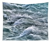 Slow Motion Rapids Tapestry