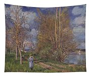 Small Meadows In Spring Tapestry