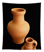 Small Pottery Items Tapestry