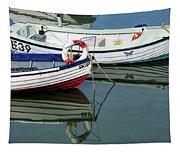 Small Skiffs - Lyme Regis Harbour Tapestry