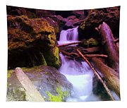 Small Waterfalls  Tapestry