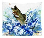 Smallmouth Bass Tapestry