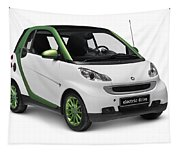 Smart Fortwo Electric Drive Tapestry