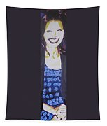Smile Of Beauty Tapestry