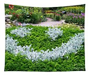 Smiley Face Garden Too Tapestry