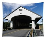 Smith Covered Bridge - Plymouth New Hampshire Usa Tapestry