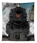Smoke And Steam Tapestry by David Mittner