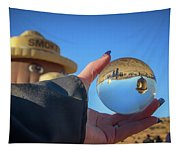 Smokey Bear Balloon In The Crystal Ball Tapestry