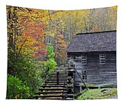 Smokey Mountain Grist Mill Tapestry