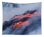 Smoking Pahoehoe Lava Tapestry