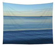 Smooth Blue Water On The Lynn Waterfront Tapestry