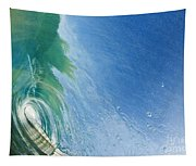 Smooth Wave Tube Tapestry
