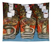 Snake In A Bottle Tapestry