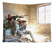 Sniper Crew Tapestry