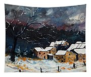 Snow 57 Tapestry