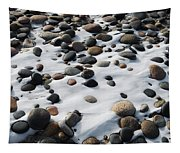 Snow And Stone Tapestry