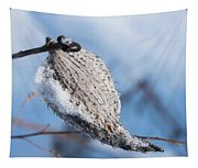 Snow-covered Pod Tapestry