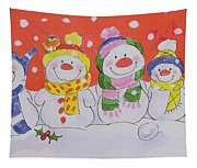 Snow Family Tapestry