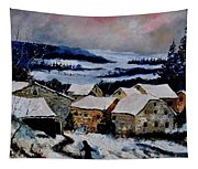 Snow In Ardennes 79 Tapestry
