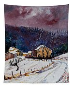 Snow In Sechery Tapestry