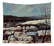 Snow In Vittrival Tapestry