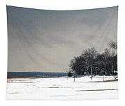 Snow On The Beach Tapestry