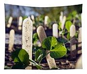 Snow Peas Please Tapestry
