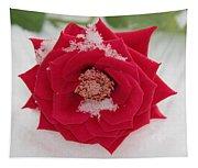 Snow Rose Tapestry
