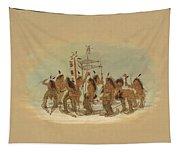 Snow Shoe Dance. Ojibbeway Tapestry