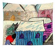 Snow Shovel Tapestry