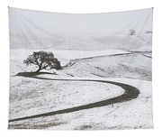 Snow Without You Tapestry