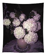 Snowball Bouquet Tapestry