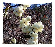 Snowberries Tapestry