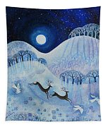 Snowy Peace Tapestry