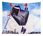Soap Scene #11 Seek The Love Within Tapestry