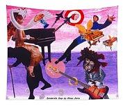 Soap Scene #21 Beggar Belief Tapestry