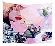 Soap Scene #6 Frogs Legs For Dinner Tapestry