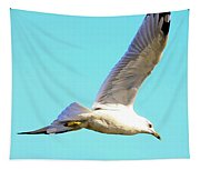 Soaring In A Blue Sky Tapestry