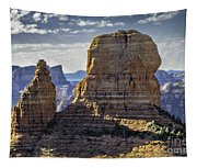 Soaring Red Rock Monoliths Tapestry