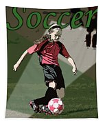 Soccer Style Tapestry