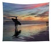 Surfing The Shadows Of Light Tapestry