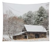 Soft Colors In The Snow Tapestry