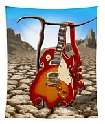 Soft Guitar II Tapestry