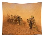 Soldiers In The Dust 4 Tapestry
