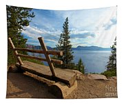 Solitude At Crater Lake Tapestry