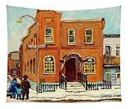 Solomons Temple Montreal Bagg Street Shul Tapestry