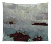 Someone Behind The Clouds Tapestry