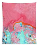 Somewhere New- Abstract Art By Linda Woods Tapestry
