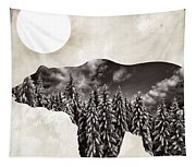 Something Wild Bear Tapestry