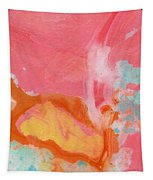 Somewhere New 2- Abstract Art By Linda Woods Tapestry by Linda Woods